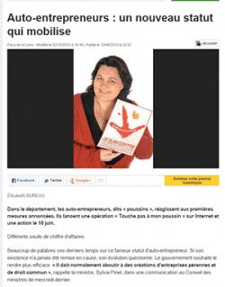 ouest-france-octobre-2013 Frédérique David